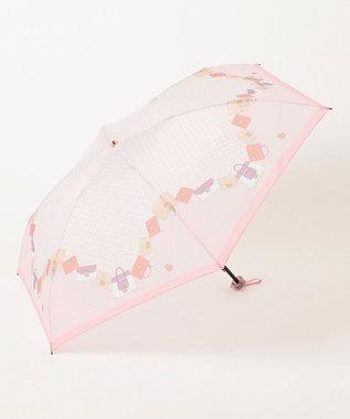 MOONBAT FURLA 折りたたみ傘 ピンクバッグ ピンク