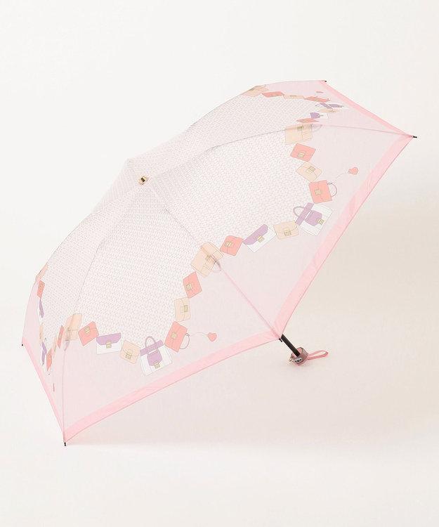MOONBAT FURLA 折りたたみ傘 ピンクバッグ