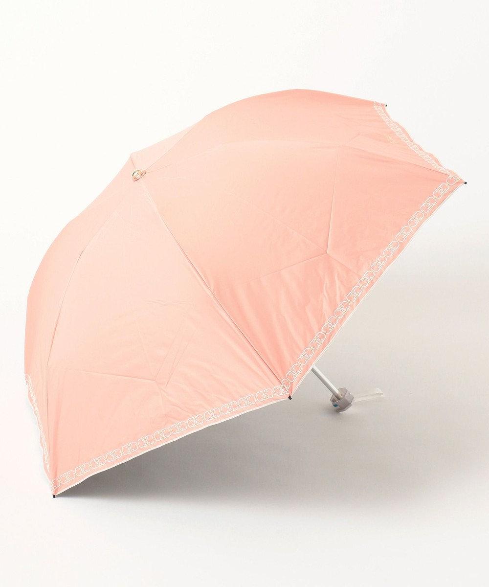 MOONBAT FURLA 晴雨兼用折傘 ピーチ