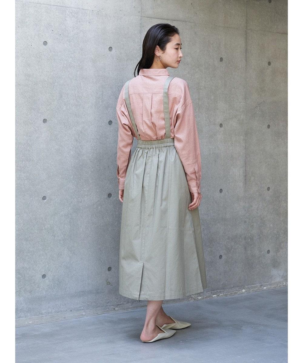 koe リネンベーシックシャツ Pink