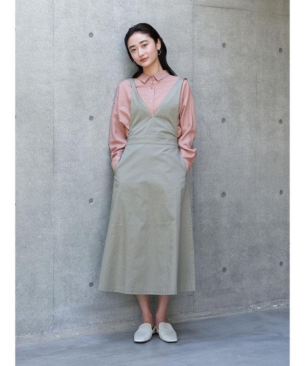 koe リネンベーシックシャツ