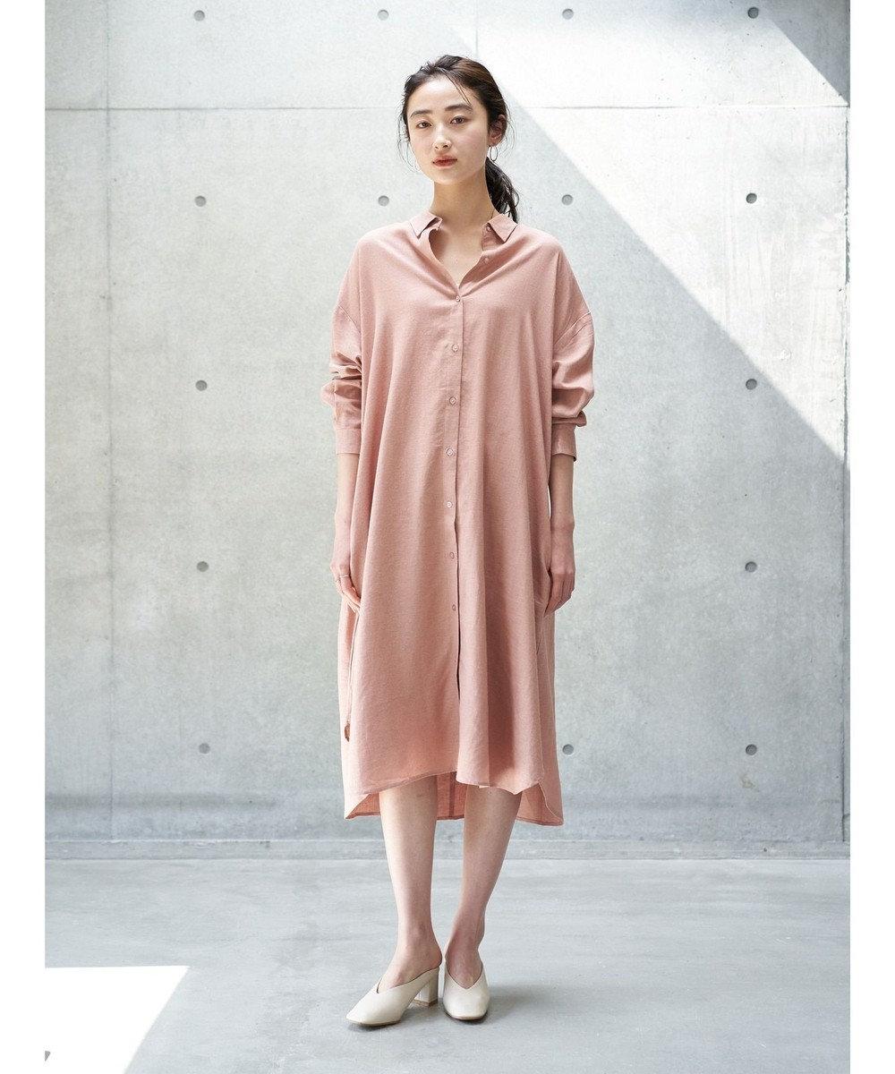 koe リネンシャツワンピース Pink