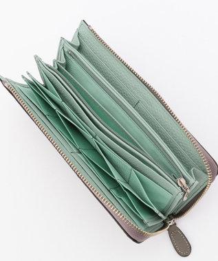 CYPRIS ≪S.Coeur≫【プチモト】ショルダー付LFハハニーセル長財布 グレー[09]