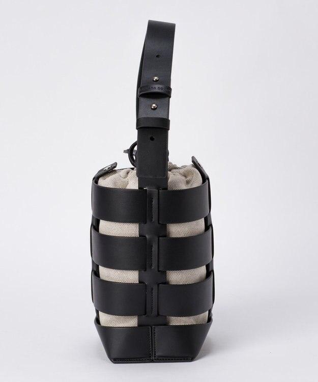 GRACE CONTINENTAL LCキャンバスレザ-bag