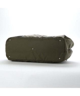 Y'SACCS リサイクルナイロン カジュアルテープボストンバッグ カーキ