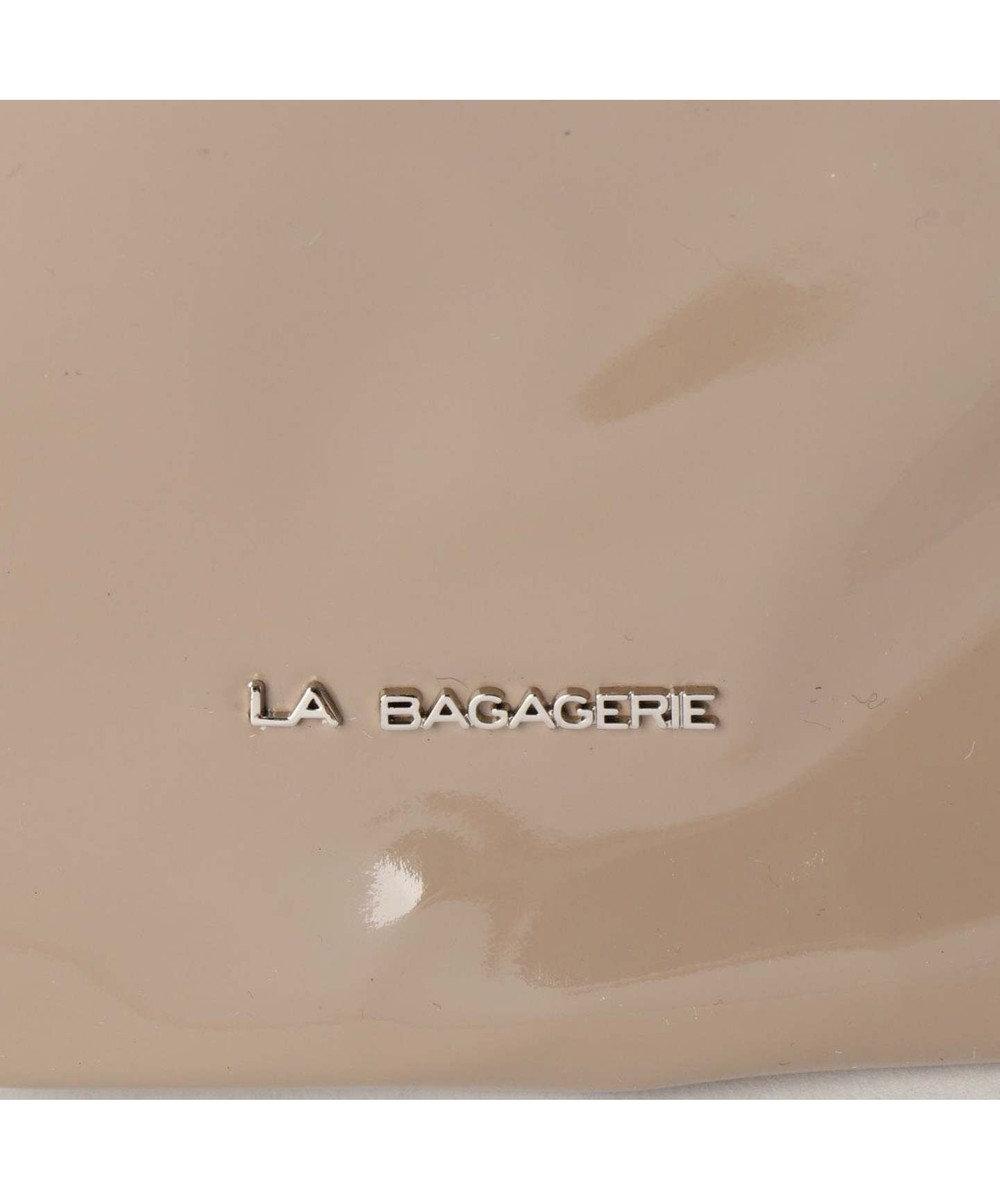 LA BAGAGERIE プリュイ ボディバッグ グレージュ
