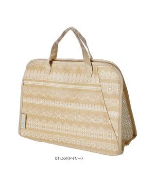 ROOTOTE 1820【バスバッグ:バッグインバッグ】/ EU.スパルー.パターン-G 01:ドイリー