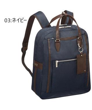 ACE BAGS & LUGGAGE ace. エース ビエナ2 リュックサック Lサイズ A4/13インチ収納可能 ネイビー
