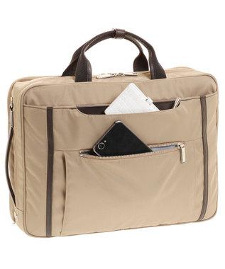 ACE BAGS & LUGGAGE ace. エース ビエナ2 3WAYバッグ レディースビジネス A4/13インチ収納 ベージュ