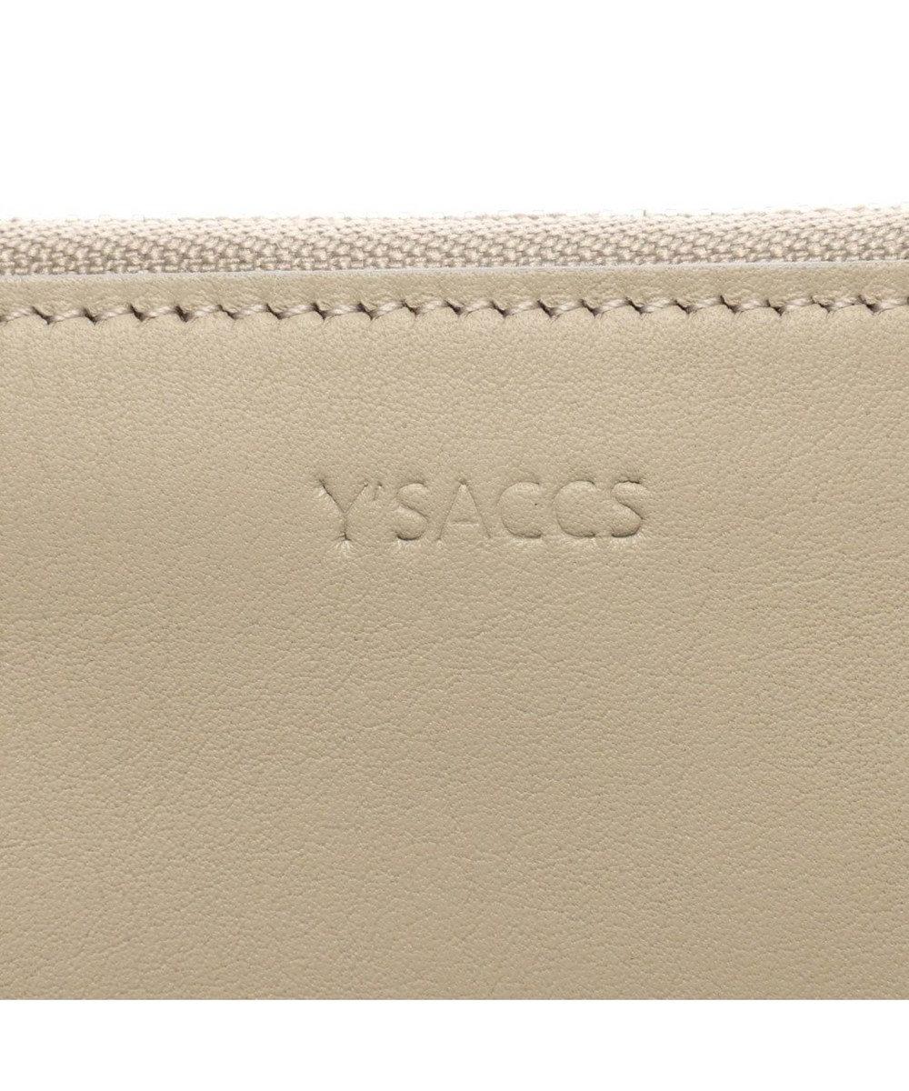 Y'SACCS 日本製牛革フラグメントケース グレージュ