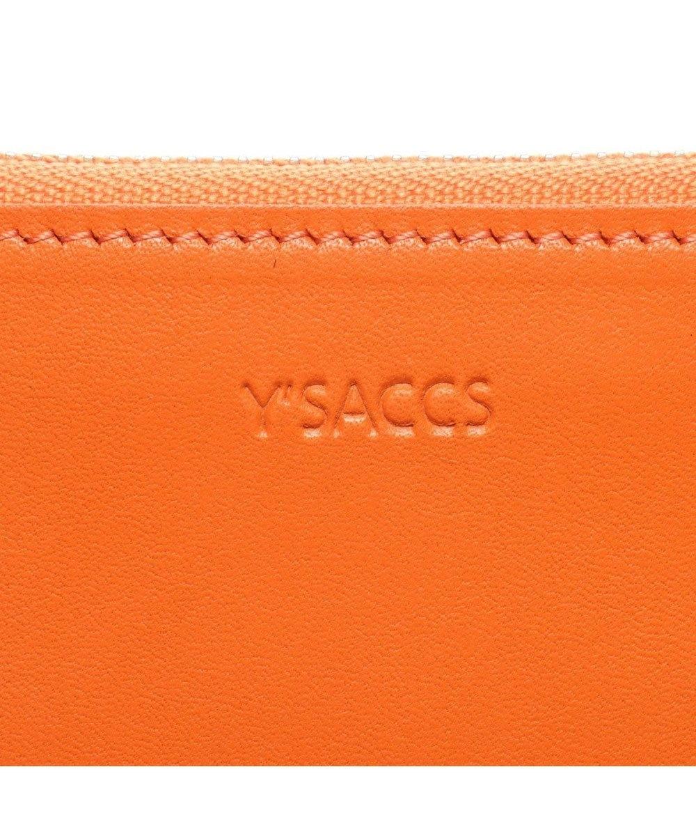 Y'SACCS 日本製牛革フラグメントケース オレンジ