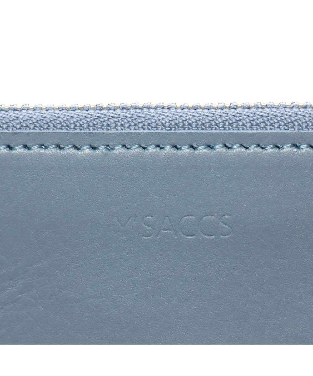 Y'SACCS 日本製牛革フラグメントケース ブルー