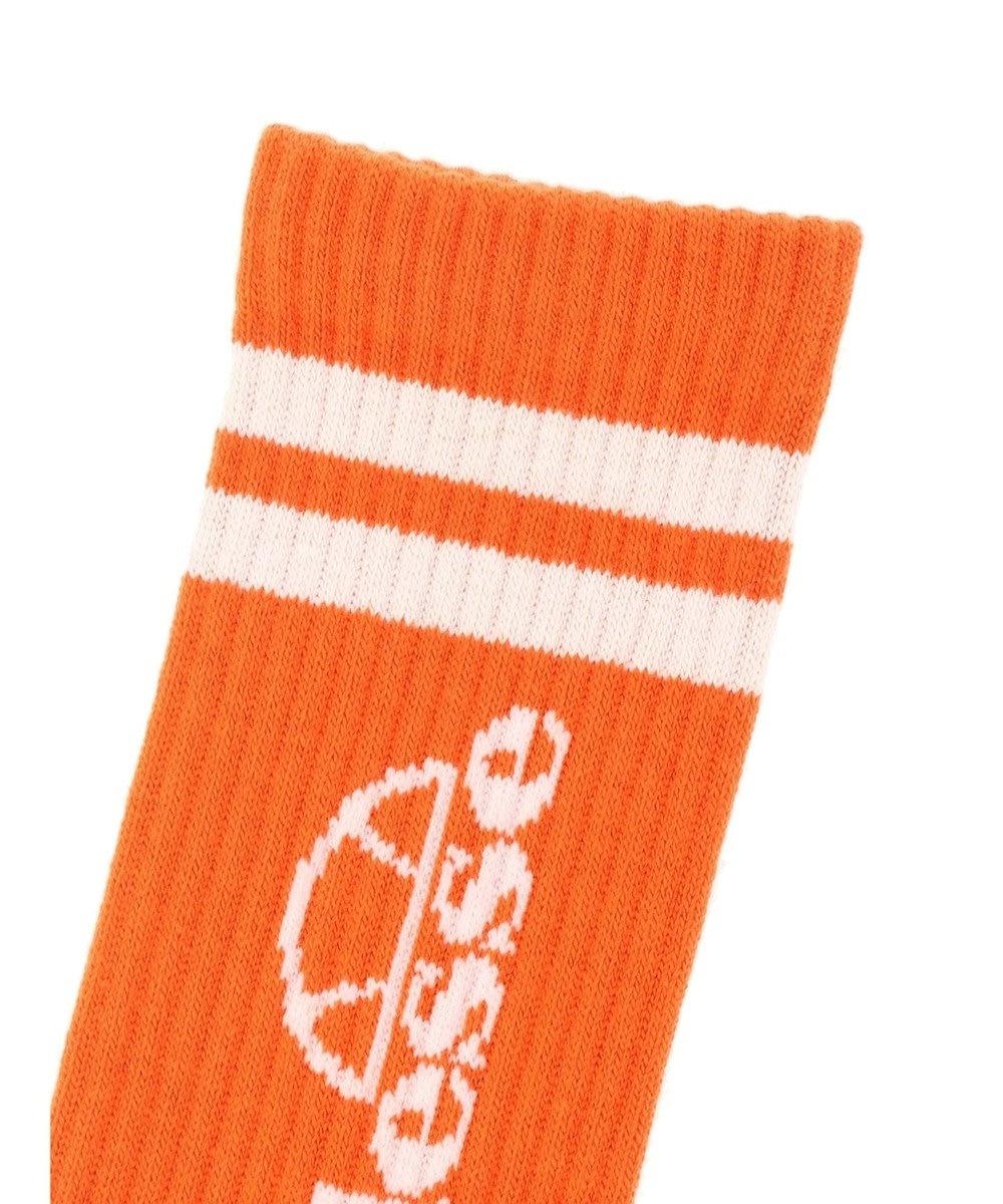 earth music&ecology ■ellesse Clew Socks Orange