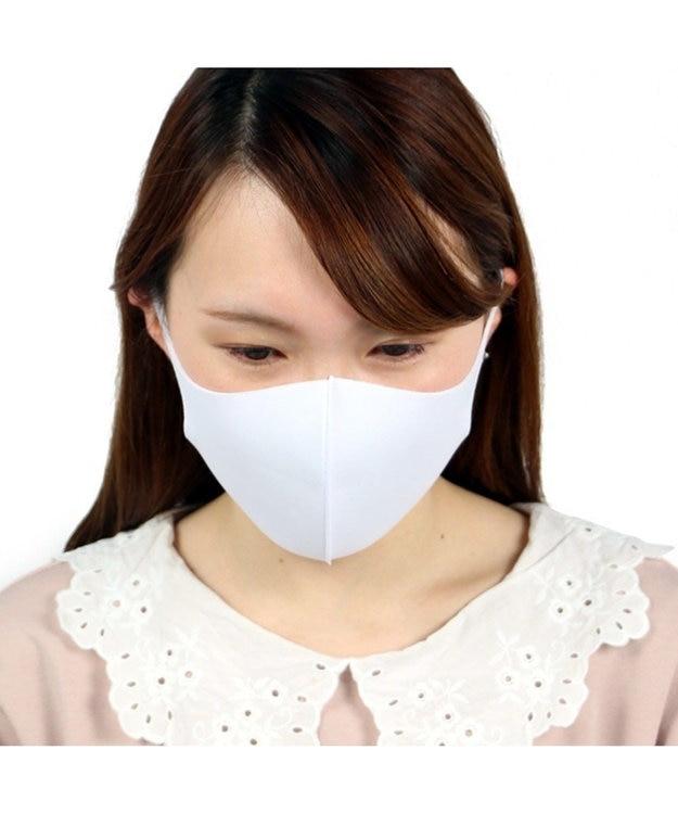 Mother garden 【洗える立体マスク】 大人用 白色 20枚セット