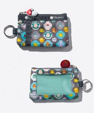 LeSportsac ID CARD CASE/ポケモンピクセルライト ポケモンピクセルライト