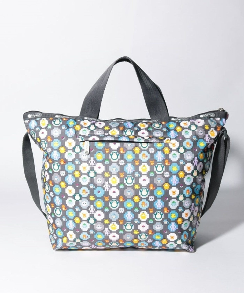 LeSportsac DELUXE EASY CARRY TOTE/ポケモンピクセルライト ポケモンピクセルライト