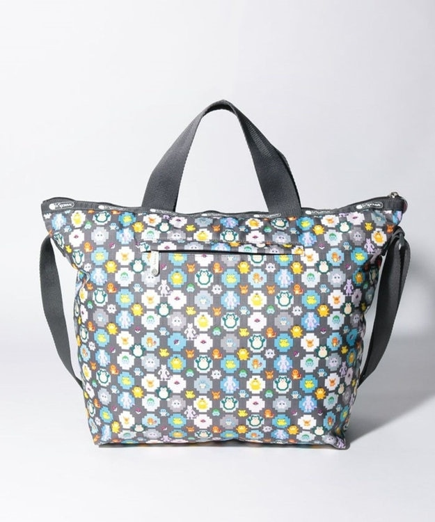 LeSportsac DELUXE EASY CARRY TOTE/ポケモンピクセルライト