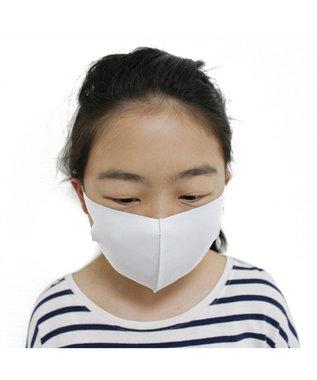 Mother garden 洗える立体マスク 子ども用 白色 5枚セット 102