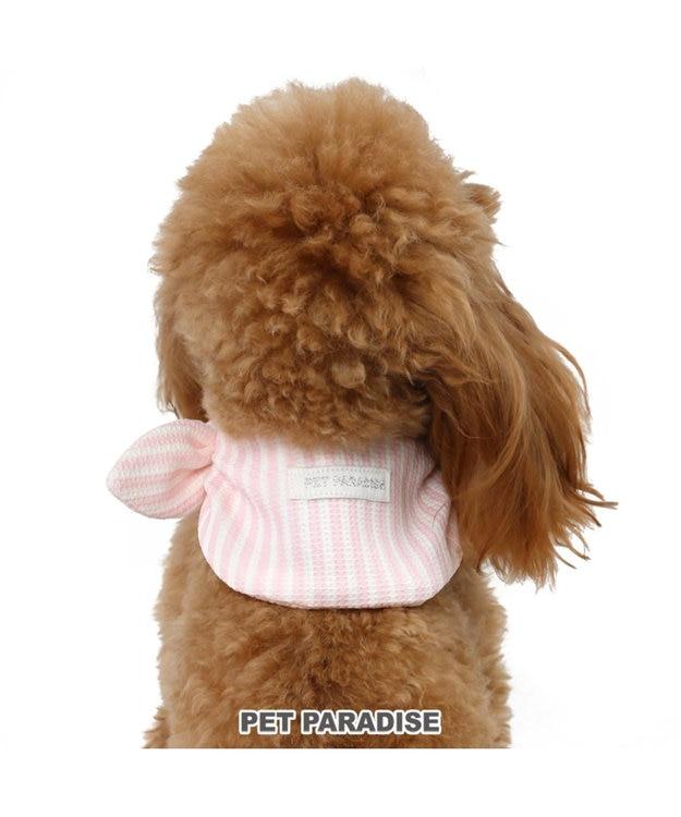PET PARADISE ペットパラダイス ポケット クール バンダナ 桃 ペットSM