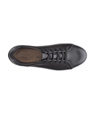 REGAL FOOT COMMUNITY 【クラークス ウィメンズ】Pawley Springs/レザースニーカー ブラック