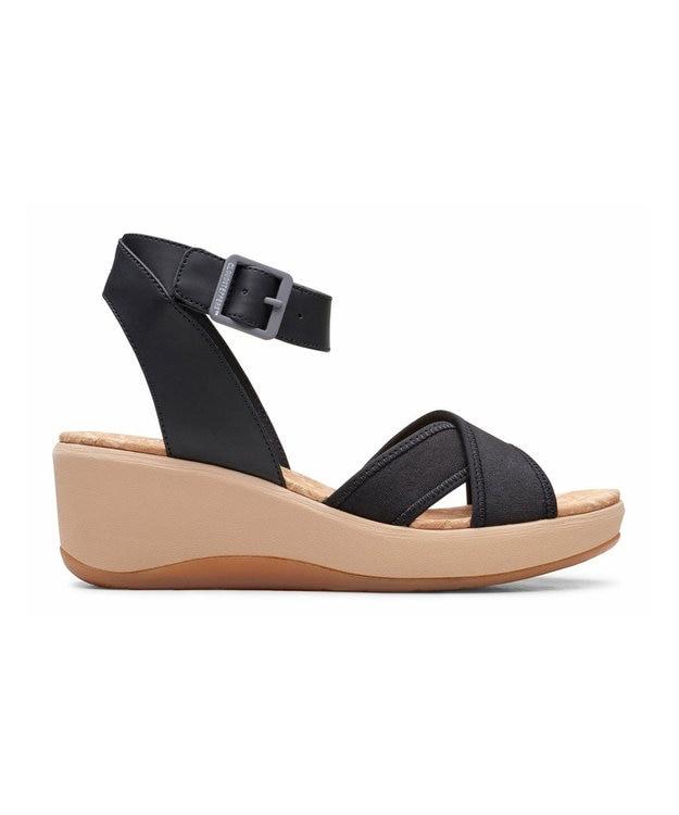 REGAL FOOT COMMUNITY 【クラークス ウィメンズ】Step CaliCoast/ウェッジヒールサンダル