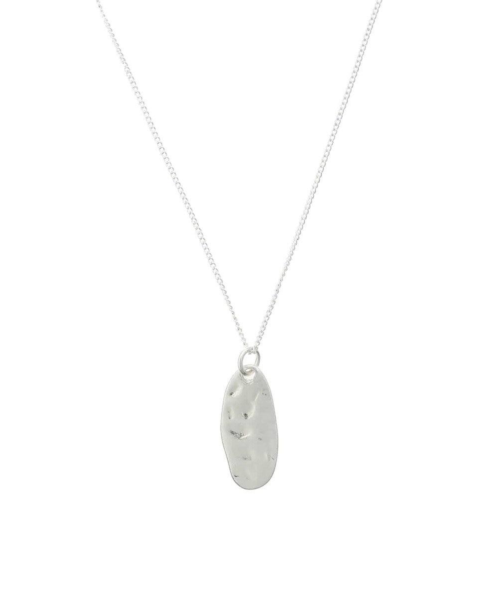 AMERICAN HOLIC 変形メタルネックレス Silver