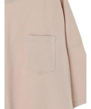 AMERICAN HOLIC ポケット付きドロップショルダーカットプルオーバー Light Beige