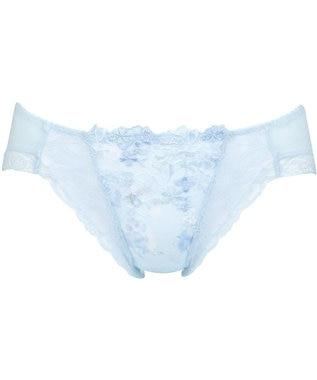 Wing ペアショーツ ビキニ 【ときはなつブラ Dry】 ウイング/ワコール KF2377 サックス