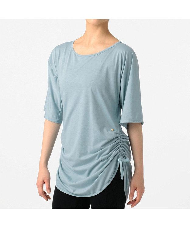 Chacott サイドドローストリングTシャツ
