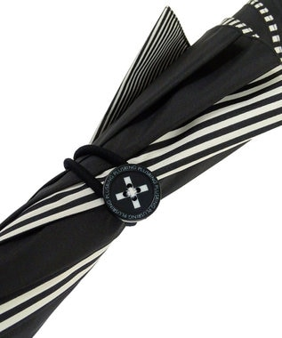+RING 【プラスリング】数量限定 UNISEX 長傘60cm BLK-STP T902 黒