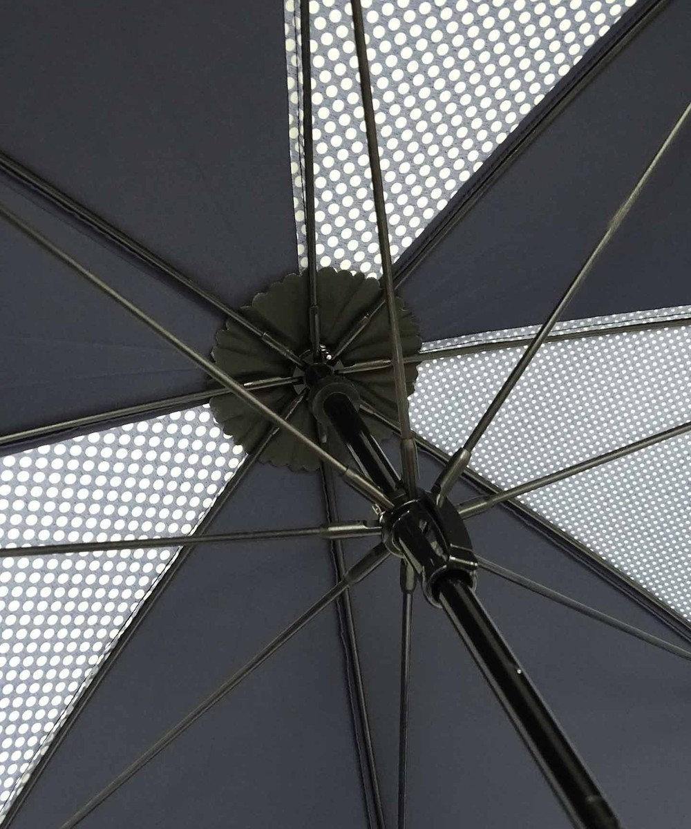 +RING 【プラスリング】数量限定 UNISEX 長傘60cm NVY-DOT T903 紺