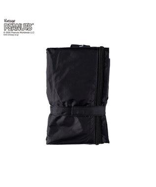 ROOTOTE 8150【スヌーピー:ポータブルバッグ】/ IP.フリンクXL.ピーナッツ-5C 01:ブラック