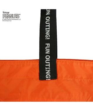 ROOTOTE 8150【スヌーピー:ポータブルバッグ】/ IP.フリンクXL.ピーナッツ-5C 03:オレンジ
