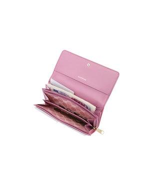 CLATHAS CLATHAS クレイサス ラミ フラップ長財布 ピンク