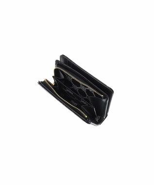 CLATHAS CLATHAS クレイサス ラミ Lファスナー二つ折り財布 ブラック