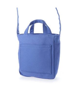 LA BAGAGERIE コットンキャンバス2wayトート Sサイズ ブルー
