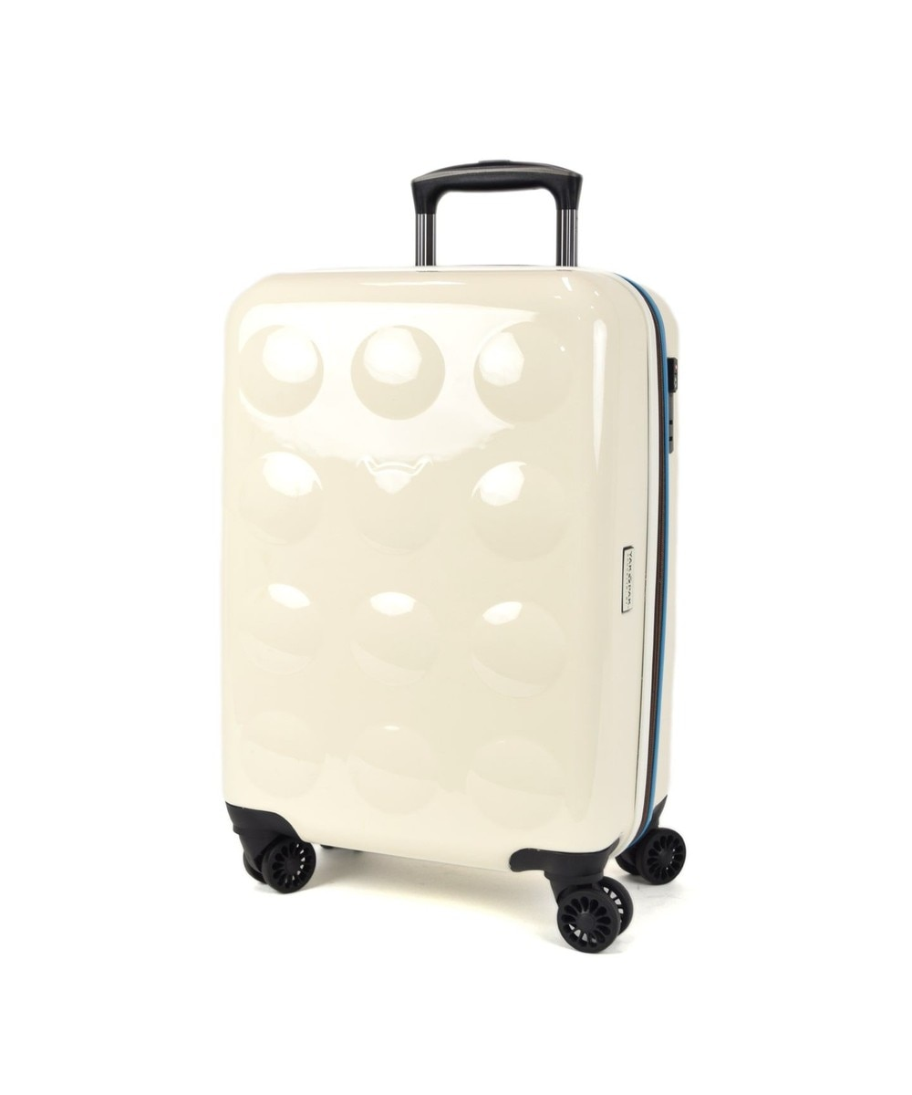 【オンワード】 tsumori chisato CARRY>バッグ YAKPAKダブルネームキャリーケース スーツケース 約3~4泊向け ゴールド フリー レディース 【送料無料】