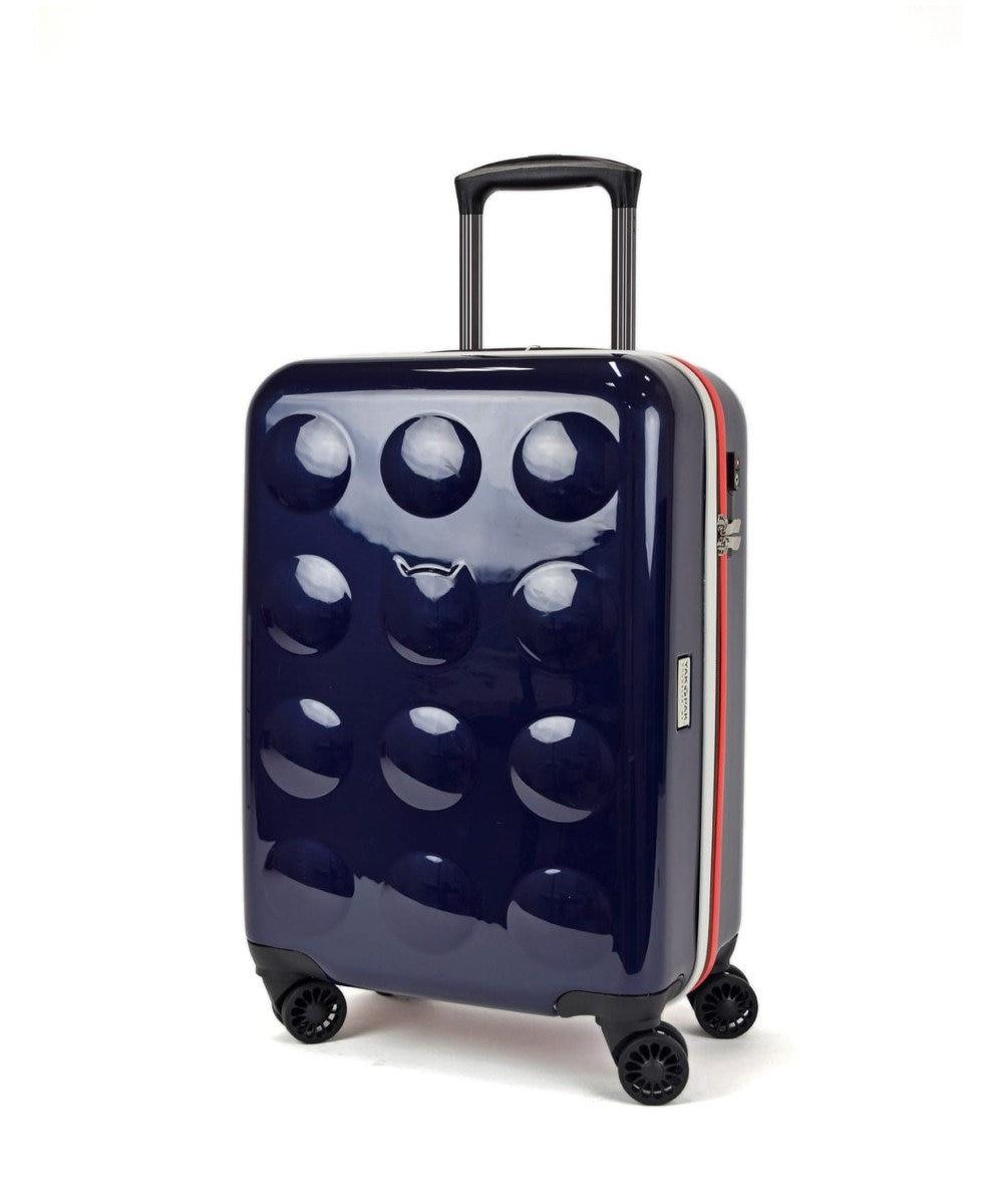 tsumori chisato CARRY YAKPAKダブルネームキャリーケース スーツケース 約3~4泊向け ネイビー