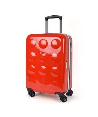 tsumori chisato CARRY YAKPAKダブルネームキャリーケース スーツケース 約3~4泊向け レッド