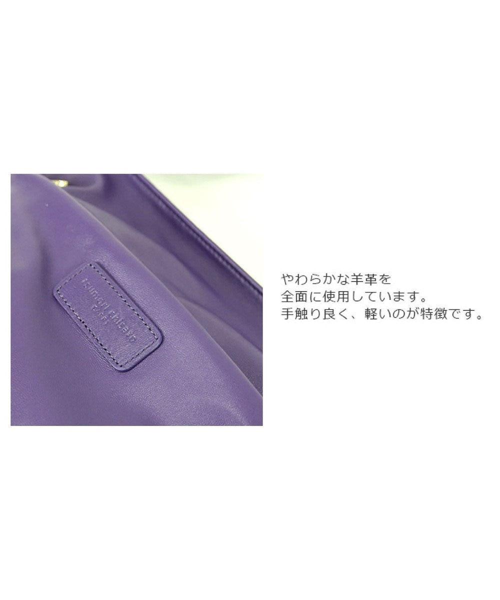 tsumori chisato CARRY ライトラム ショルダーバッグ ブラック
