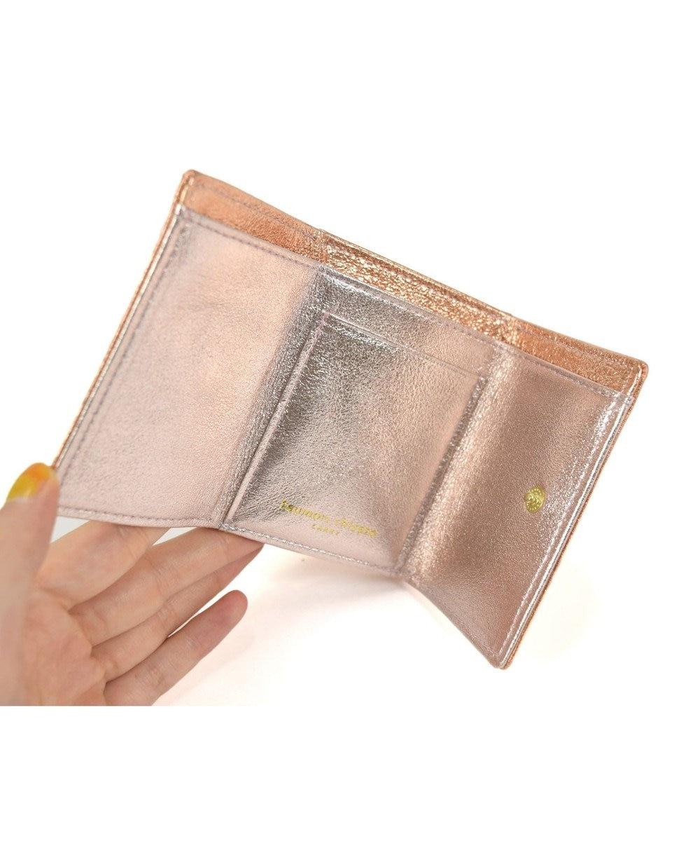 tsumori chisato CARRY 新マルチドット ミニ財布 3つ折り ゴールド