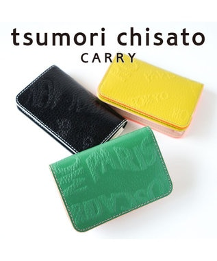 tsumori chisato CARRY シティ 名刺入れ ブラック
