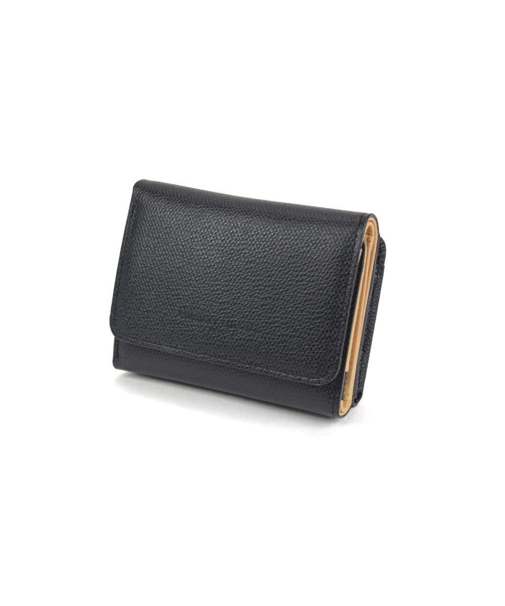 tsumori chisato CARRY トリロジー ミニ財布 3つ折り ブラック