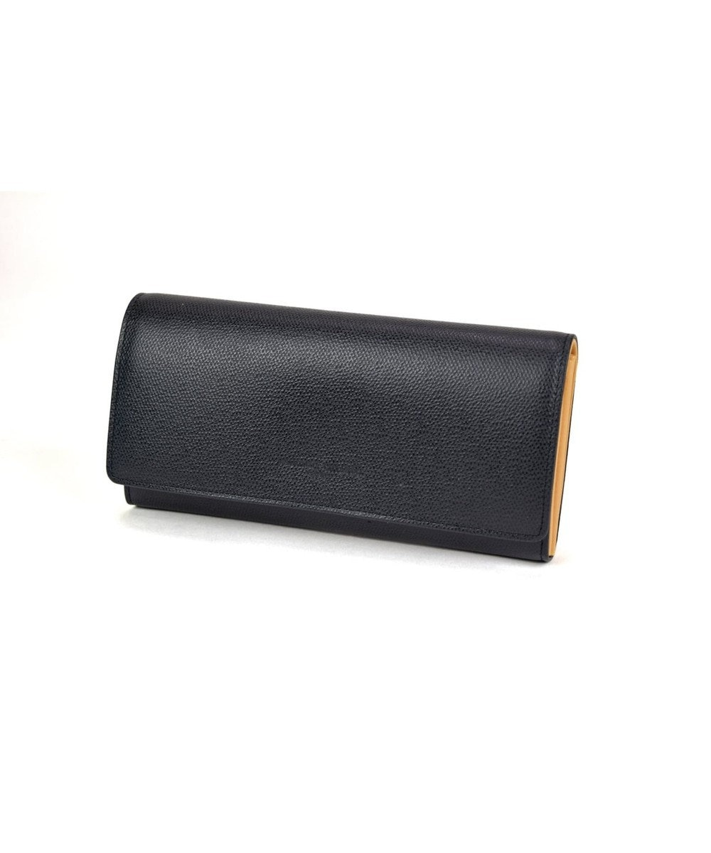 tsumori chisato CARRY トリロジー 長財布 かぶせ ブラック