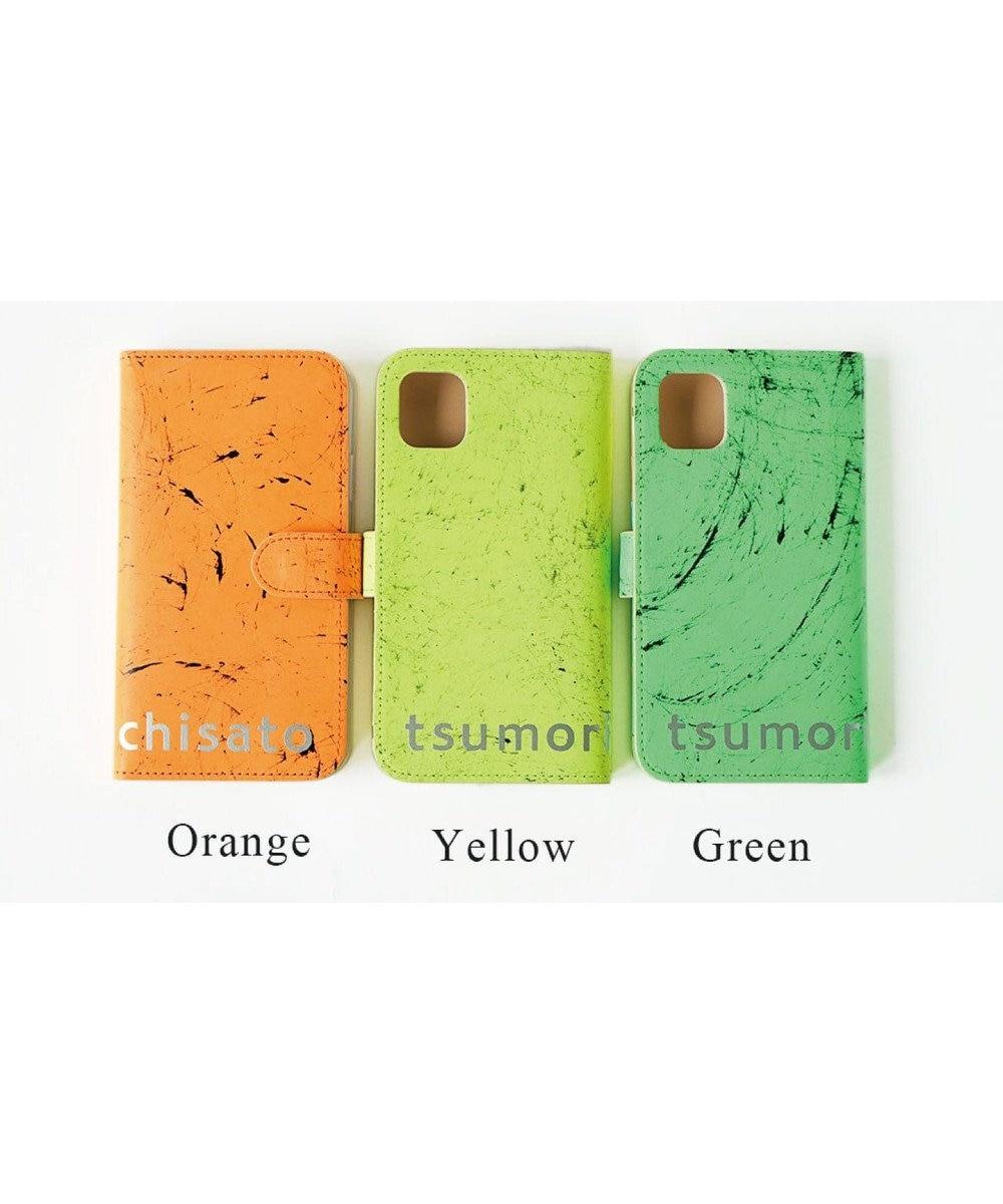 tsumori chisato CARRY スクラッチ iPhoneケース iPhone11 グリーン
