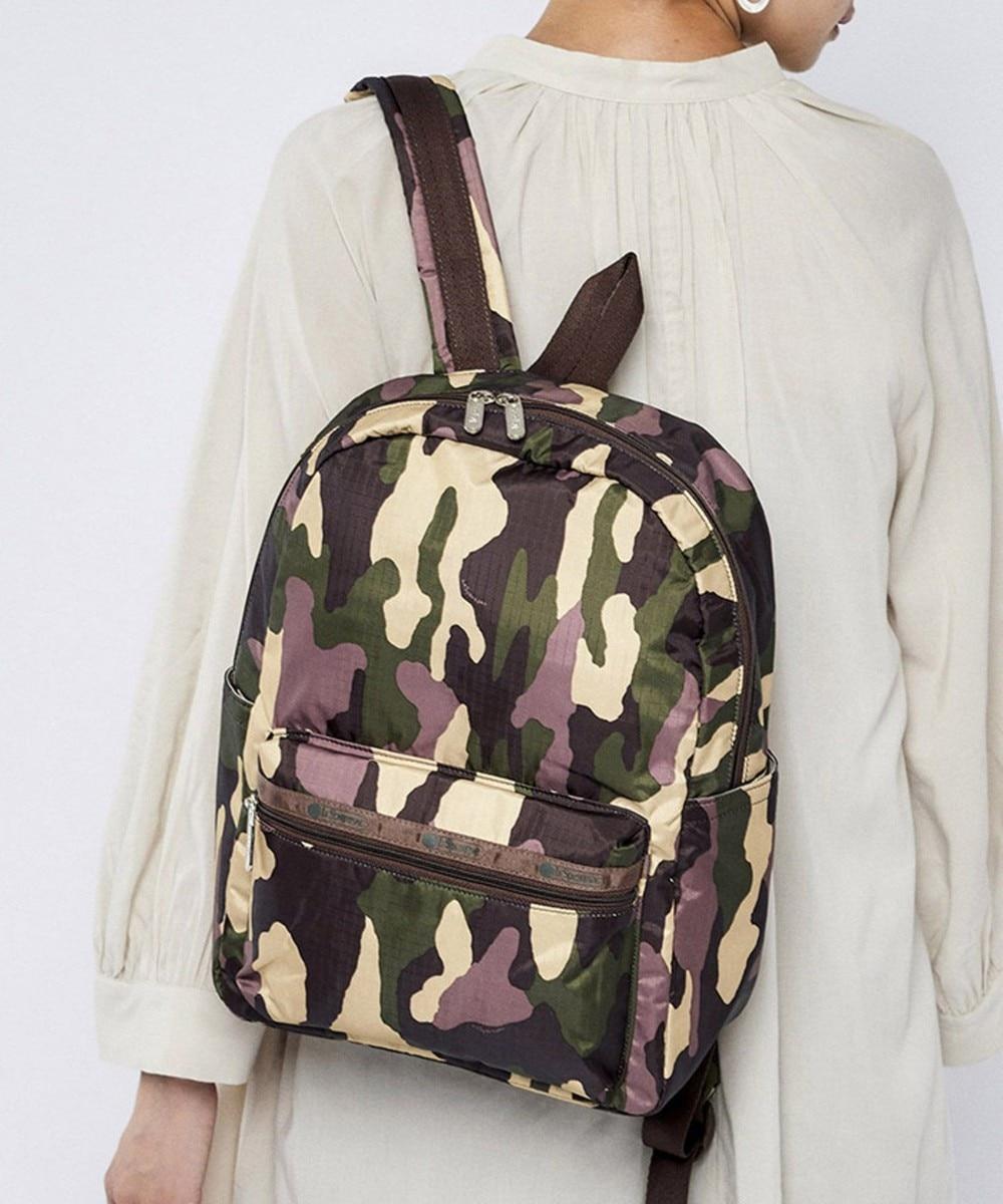 【オンワード】 LeSportsac>バッグ Medium Carson Backpack/ウッドランドカモ ウッドランドカモ F レディース 【送料無料】
