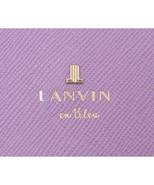 LANVIN en Bleu LANVIN en Bleu ランバンオンブルー リュクサンブール 二つ折り財布 ラベンダー
