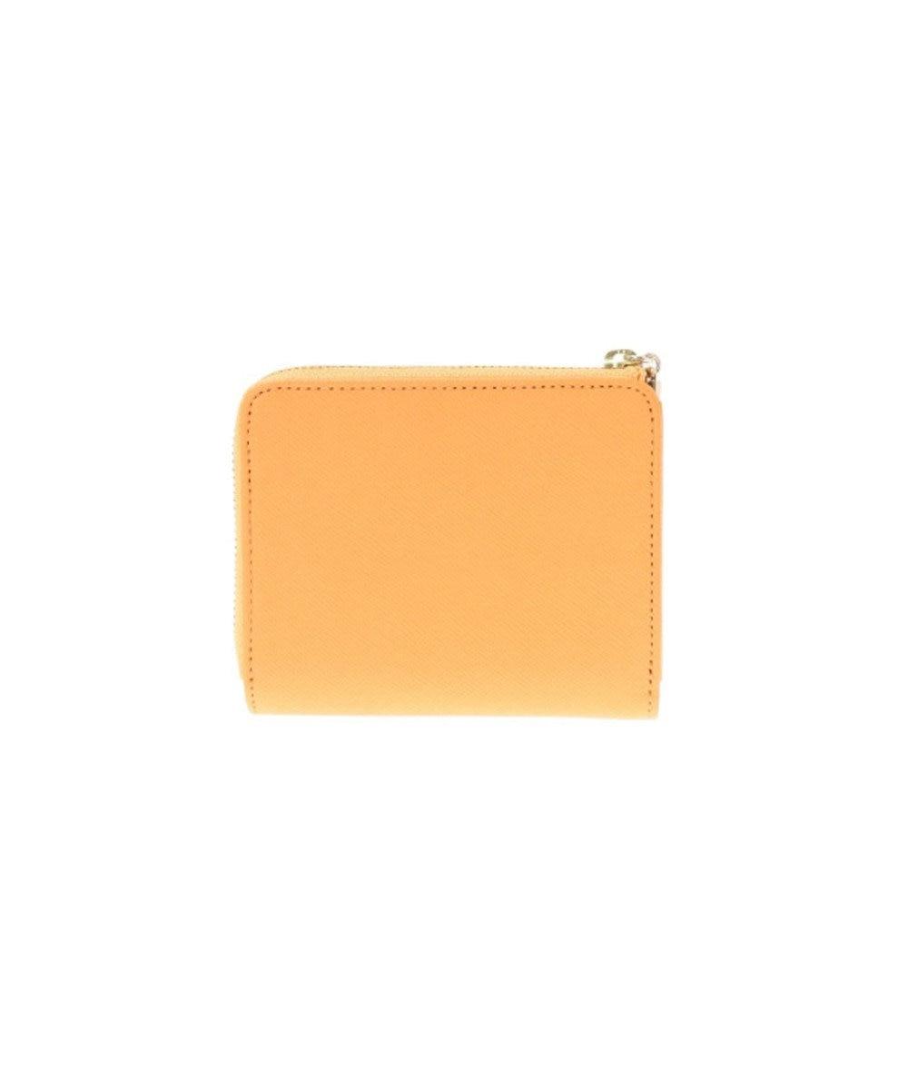 LANVIN en Bleu LANVIN en Bleu ランバンオンブルー リュクサンブールカラー 二つ折り財布 オレンジ