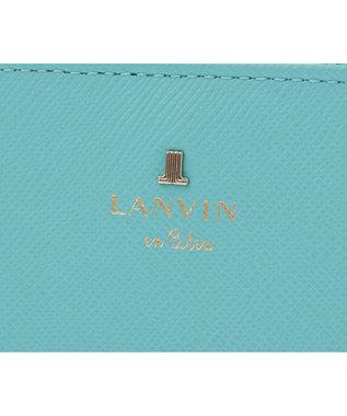 LANVIN en Bleu LANVIN en Bleu ランバンオンブルー リュクサンブールカラー 二つ折り財布 エメラルドグリーン