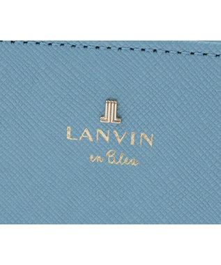 LANVIN en Bleu LANVIN en Bleu ランバンオンブルー リュクサンブールカラー 二つ折り財布 ブルー